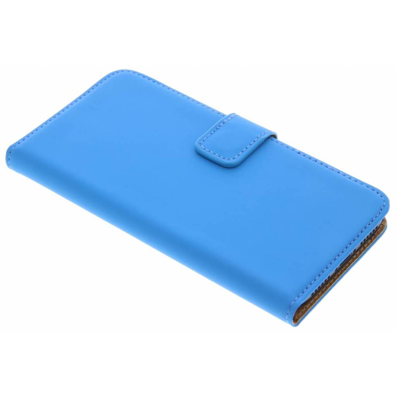 Blauwe Luxe Book Case voor de iPhone X