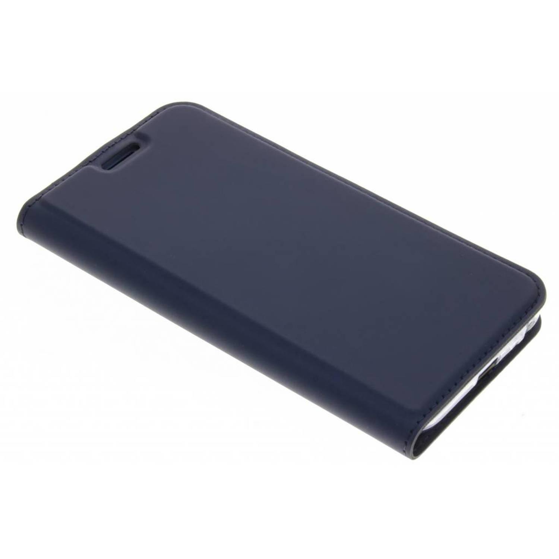 Blauwe Slim TPU Booklet voor de Samsung Galaxy J3 (2017)