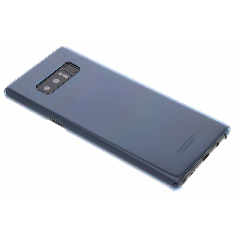 Blauwe Clear Cover voor de Galaxy Note 8