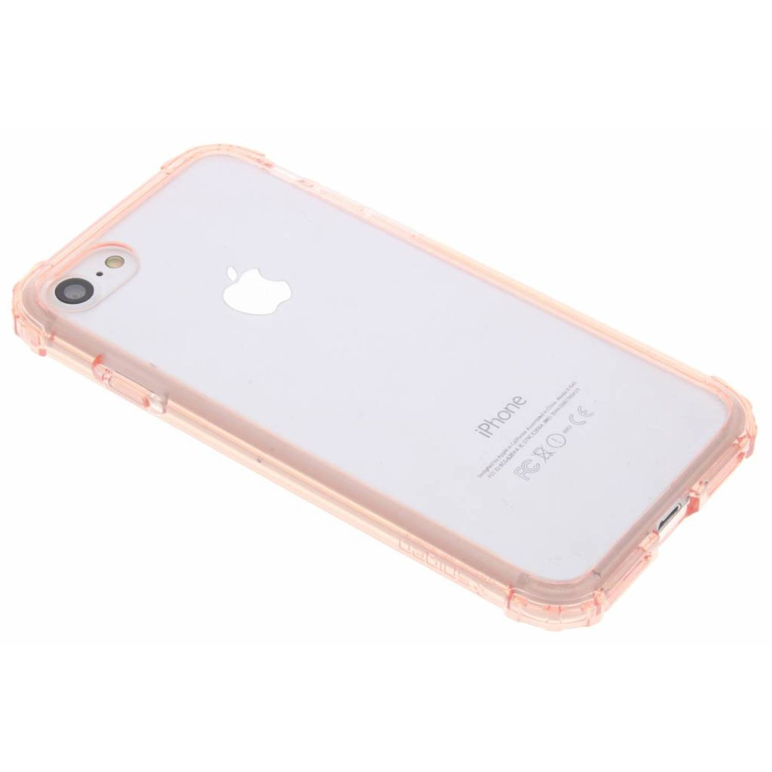 Roze Crystal Shell Case voor de iPhone 8 / 7