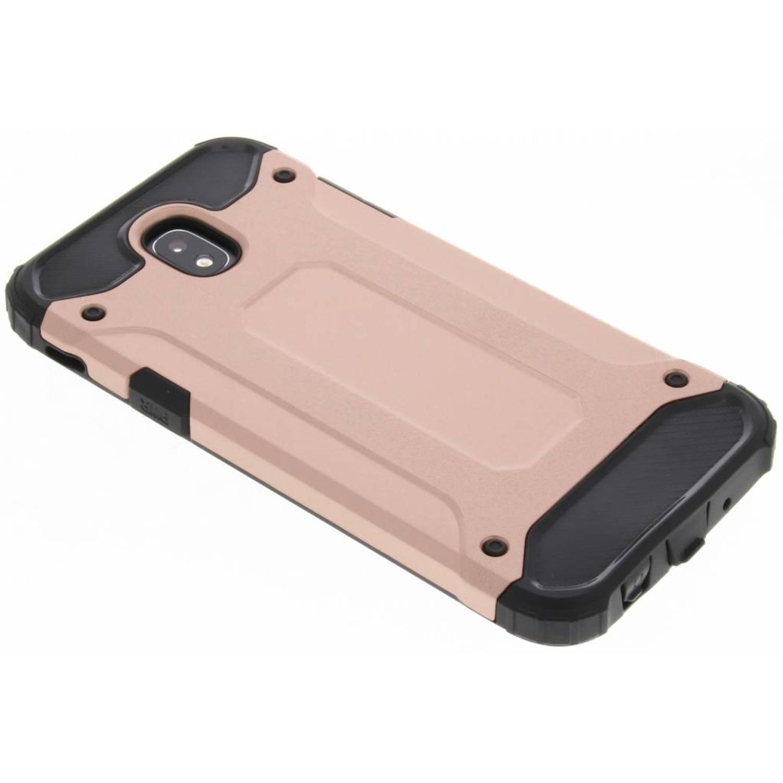 Rosé Gouden Rugged Xtreme Case voor de Samsung Galaxy J5 (2017)