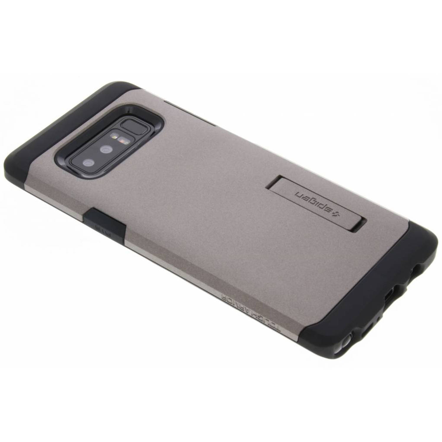 Grijze Tough Armor Case voor de Samsung Galaxy Note 8