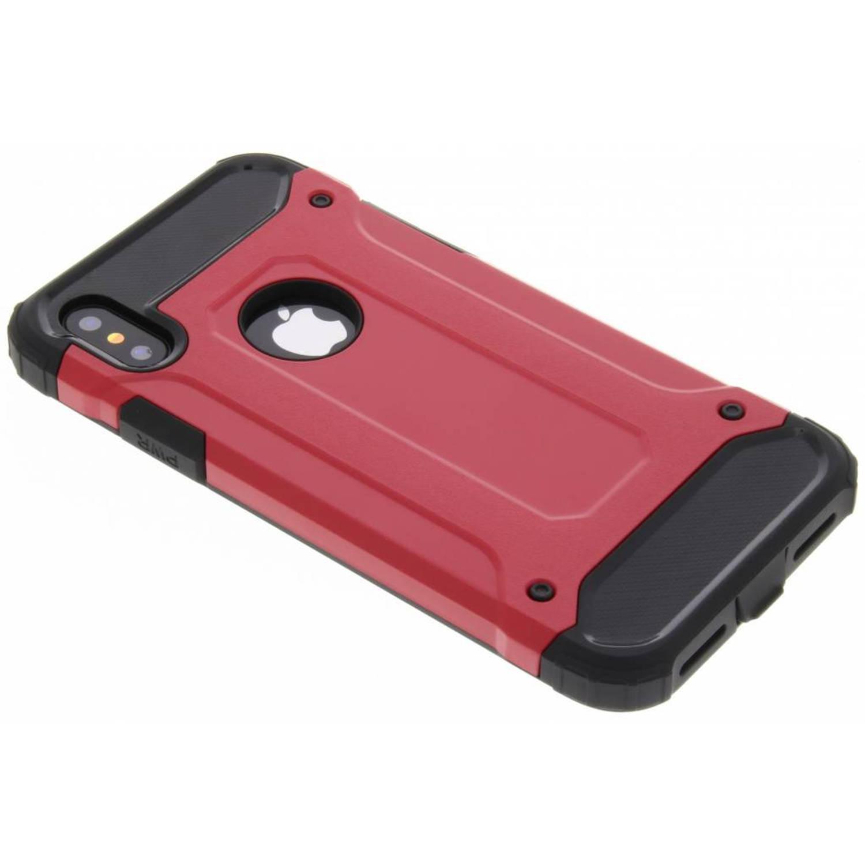 Rode Rugged Xtreme Case voor de iPhone X