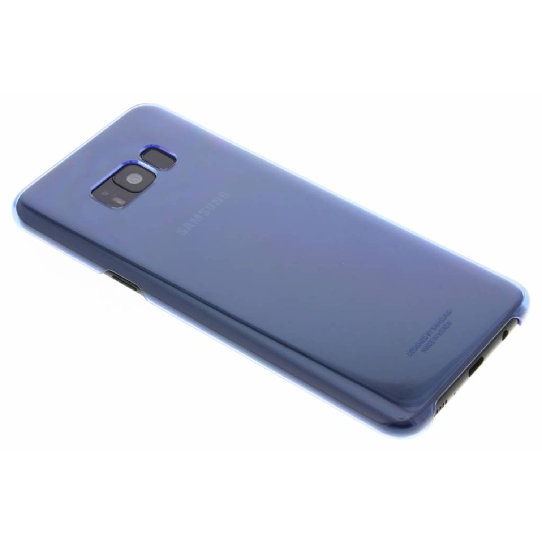 Blauwe originele Ultra-Thin Clear Cover voor de Galaxy S8 Plus
