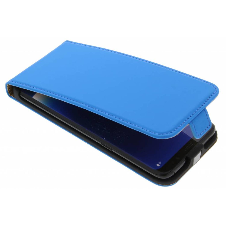 Blauwe Luxe Flipcase voor de Samsung Galaxy S8