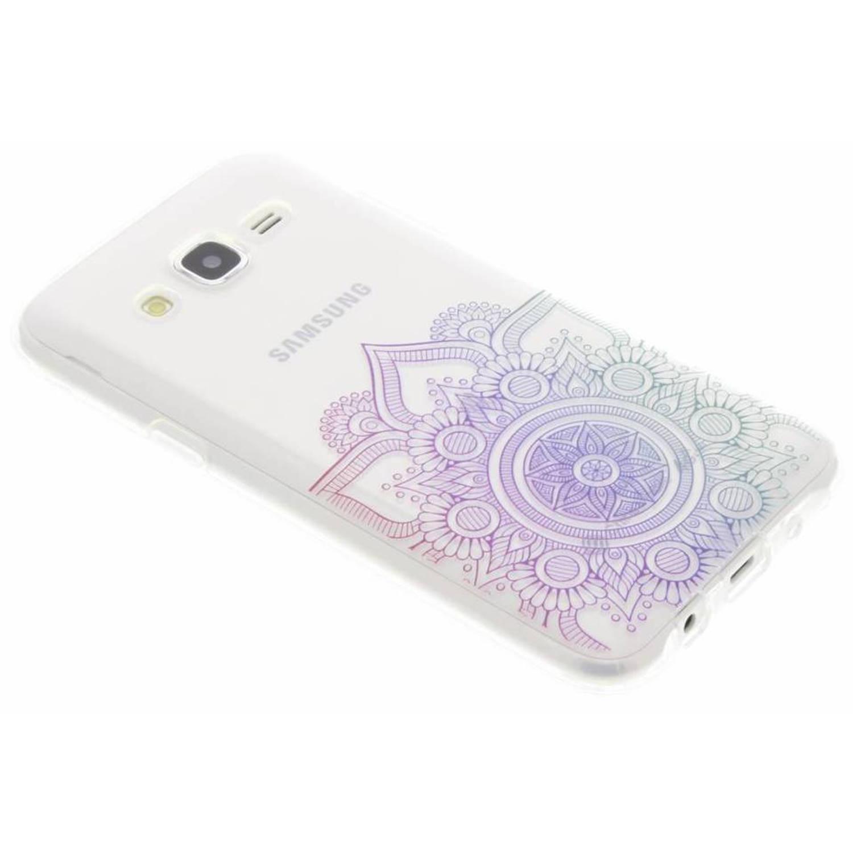 Conception Multicolore Cas De Mandala Tpu Pour Samsung Galaxy J7 (2016) JrF7Zh