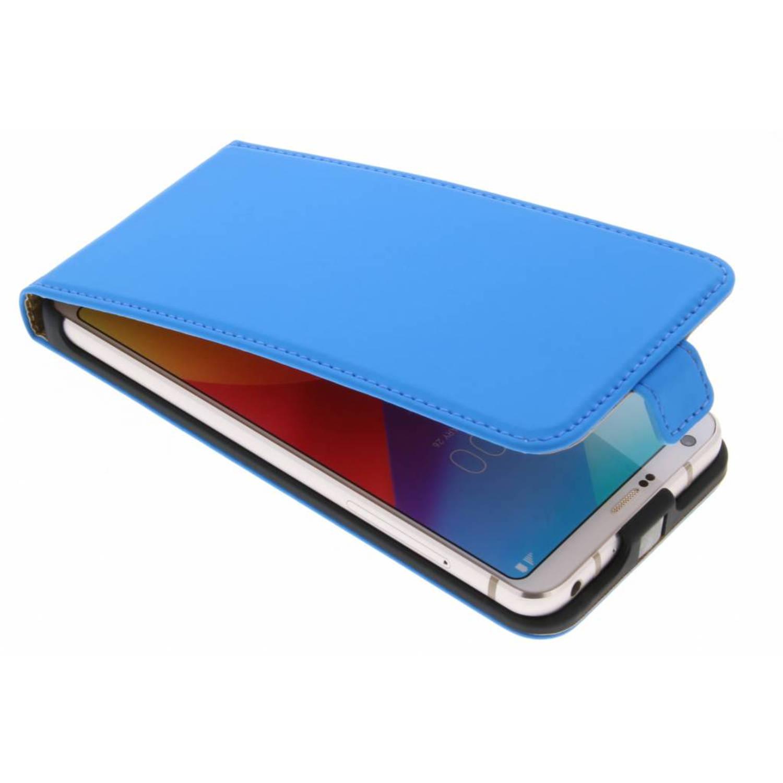 Blauwe Luxe Flipcase voor de LG G6
