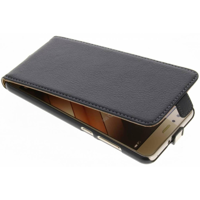 Zwarte smartcase voor de huawei p10 lite