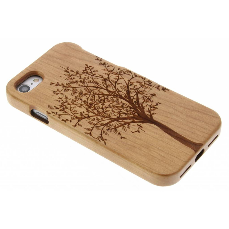 Boom houten hardcase hoesje met print voor de iPhone 7