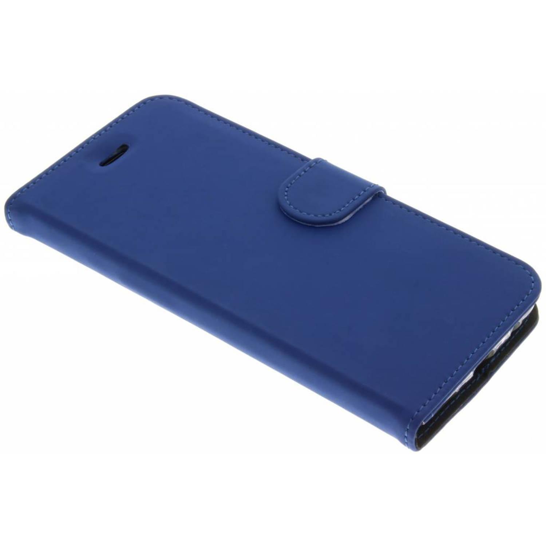 Afbeelding van Blauwe Wallet TPU Booklet voor de OnePlus 5