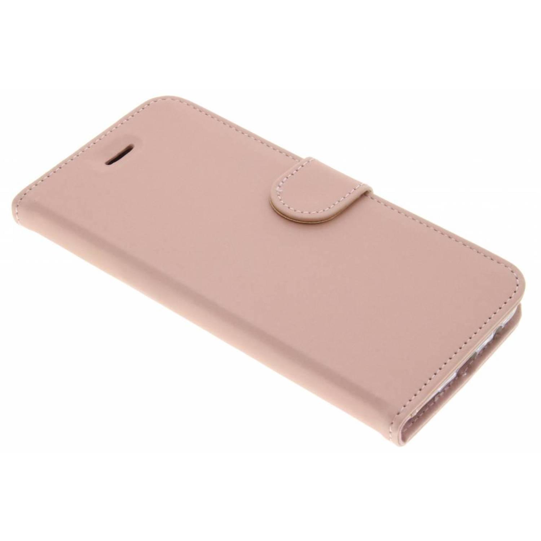 Rosé Gouden Wallet TPU Booklet voor de OnePlus 5