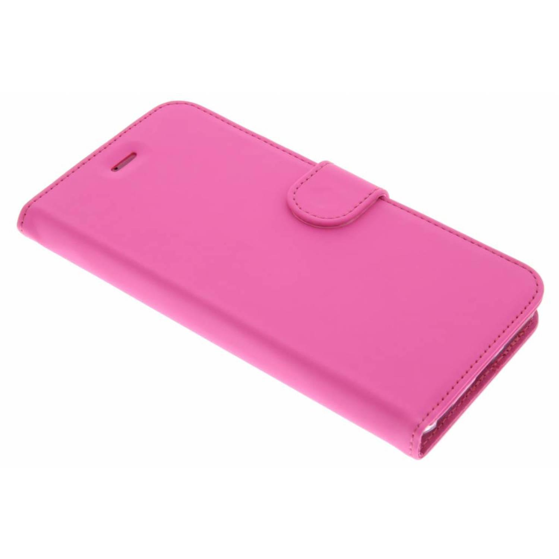 Wallet TPU Booklet voor de iPhone 6(s) Plus - Roze
