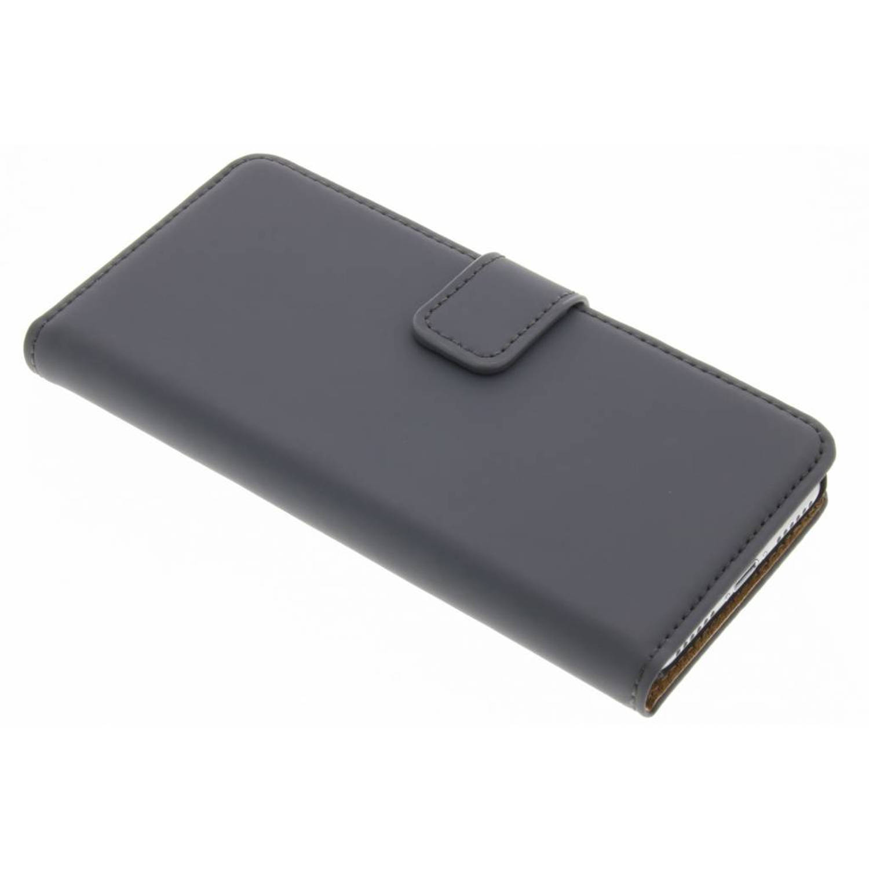 iPhone 7 hoesje Grijs - Luxe Book Case