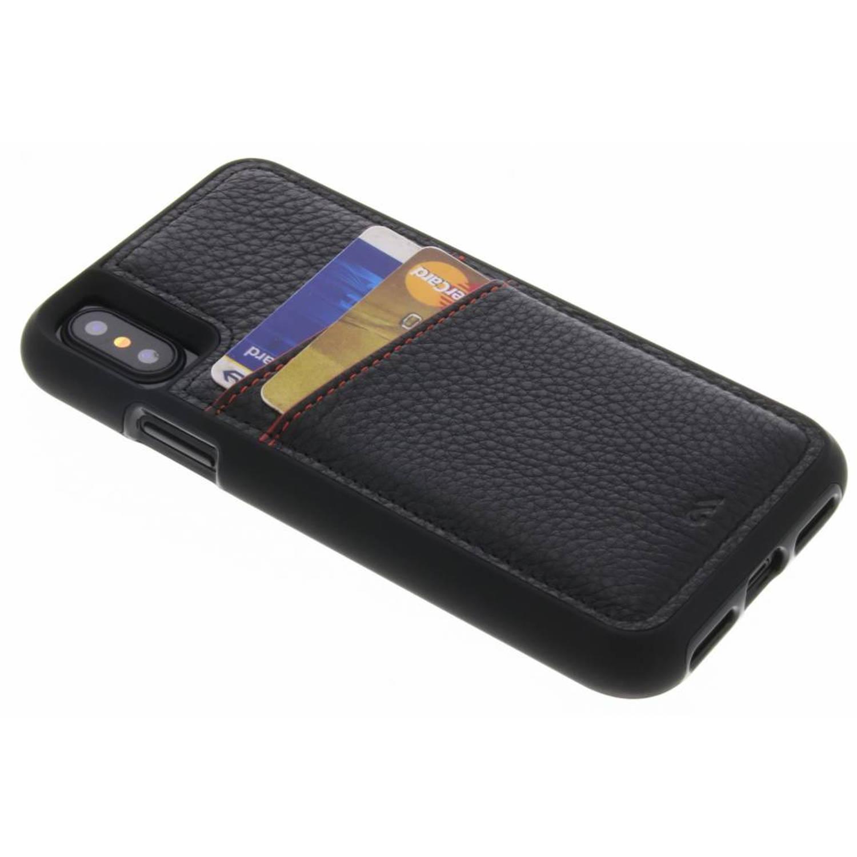Zwarte Tough ID Case voor de iPhone Xs / X