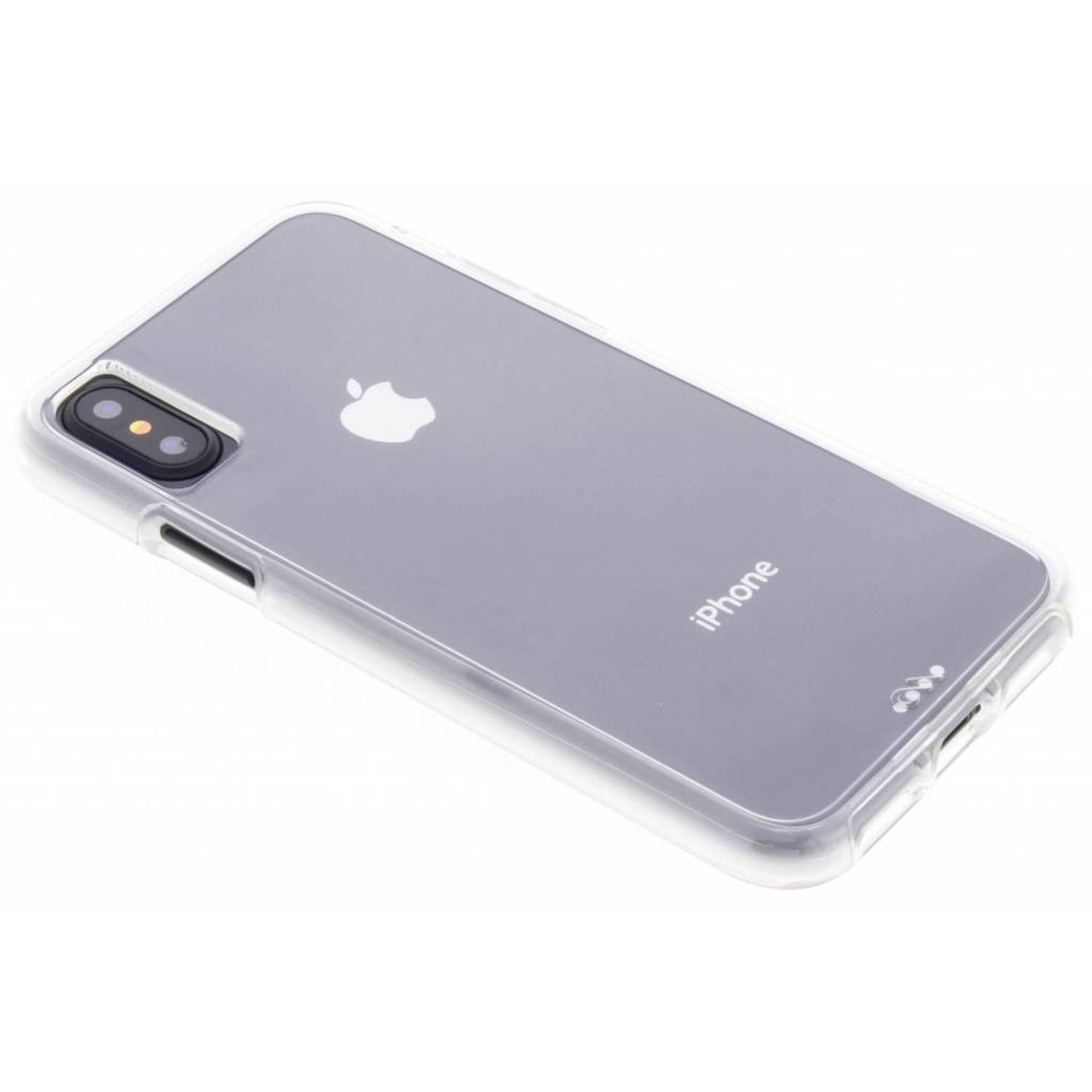 Transparante Naked Tough Case voor de iPhone Xs / X