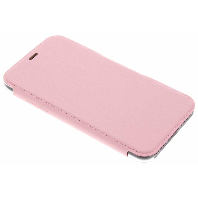 Roze Engage Folio Booklet voor de iPhone Xs / X