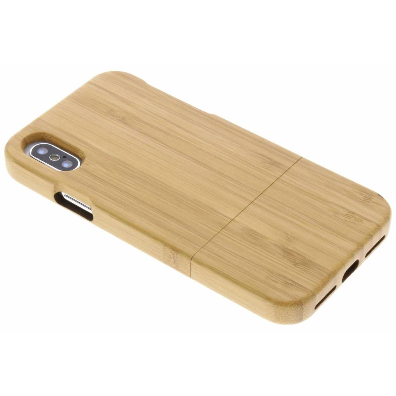 Bamboo echt houten hardcase hoesje voor de iPhone X