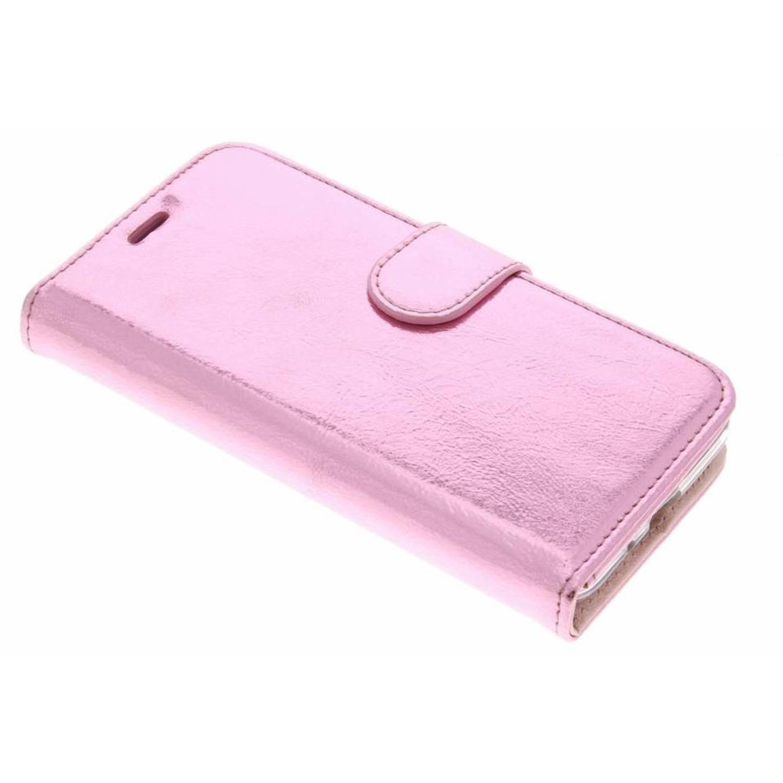 Glamour Rose Cas De Type Livre De Design Pour Samsung Galaxy A3 (2017) etowCnd01