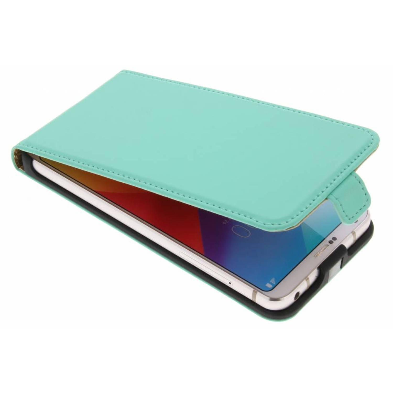 Mintgroene Luxe Flipcase voor de LG G6