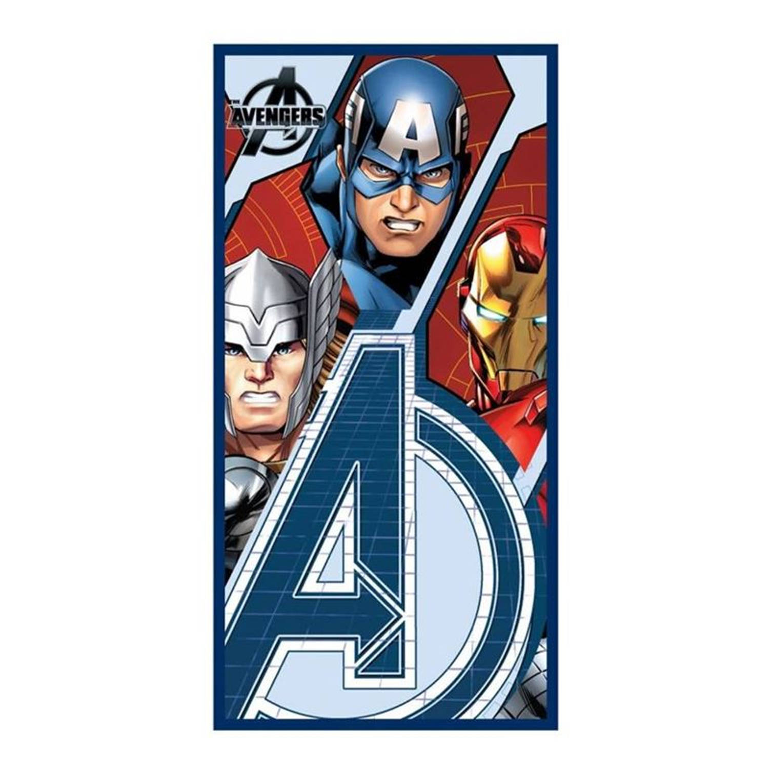 Badlaken Avengers Force: 70x140 Cm