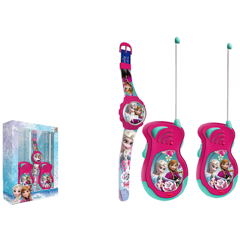 Disney Frozen walkie talkies en horloge | Blokker
