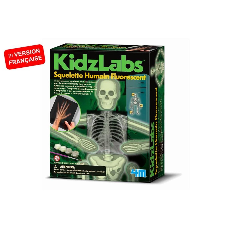 Afbeelding van 4M KidzLabs fluorescerend skelet 7-delig