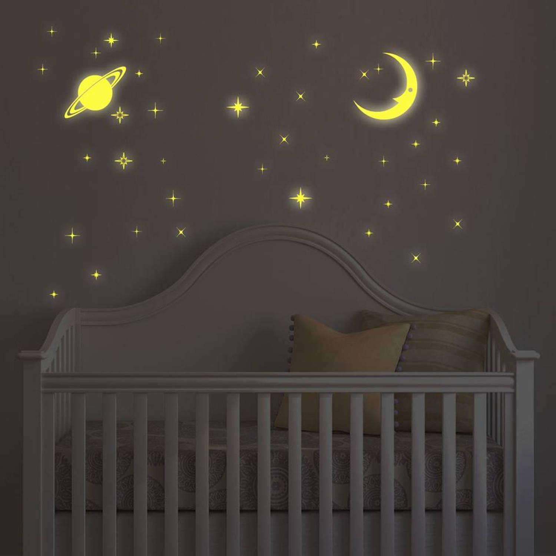 Glow in the Dark Moon en  Stars