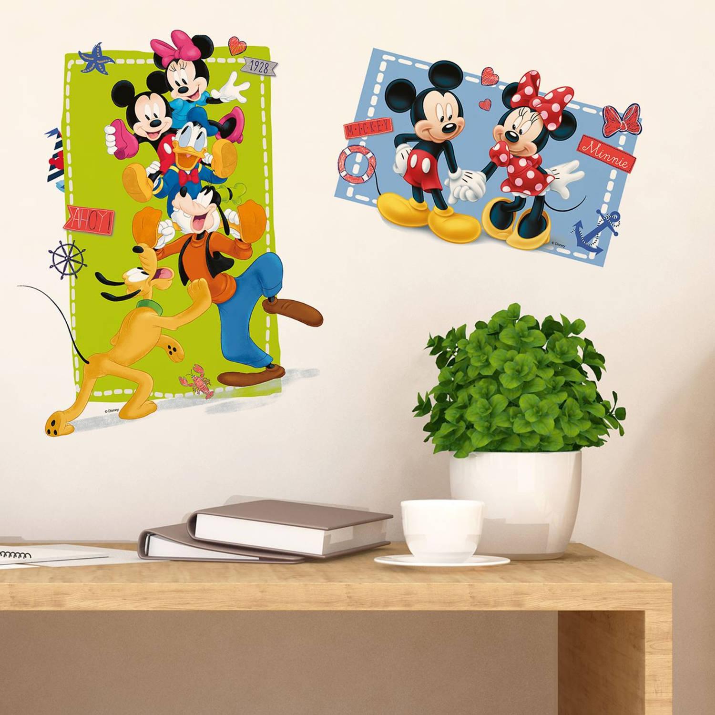 Walplus kids decoratie sticker - disney mickey mouse & vrienden