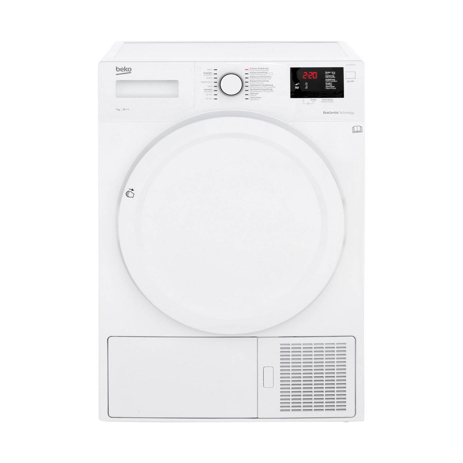 Beko DS7433PXW warmtepompdrogers - Wit