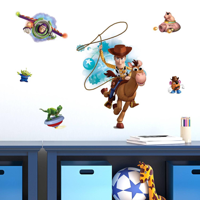 Walplus kids decoratie sticker - disney toy story