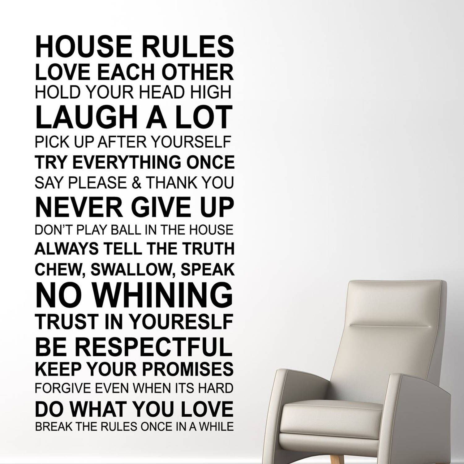 House Rules Quote EN