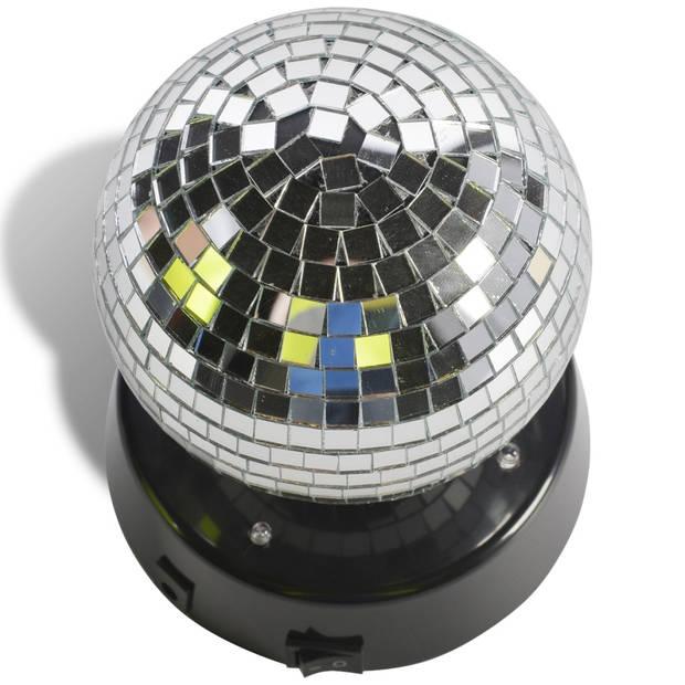 Party funlights discobol met vier ledlampen 10 cm