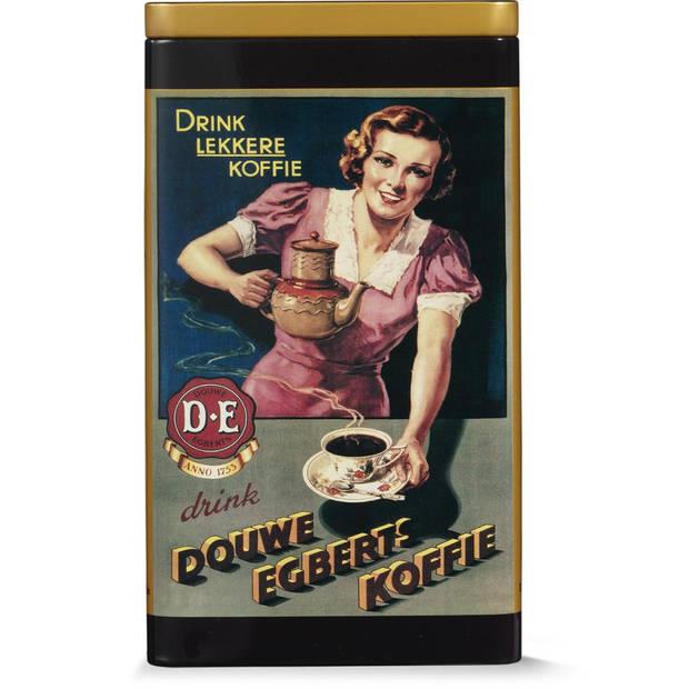 Douwe Egberts koffieblik