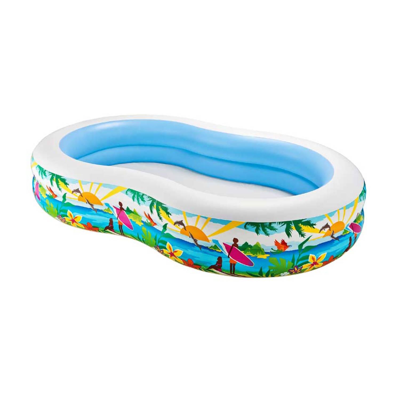 Intex Paradise Zwembad 262 X 160 X 46 Cm