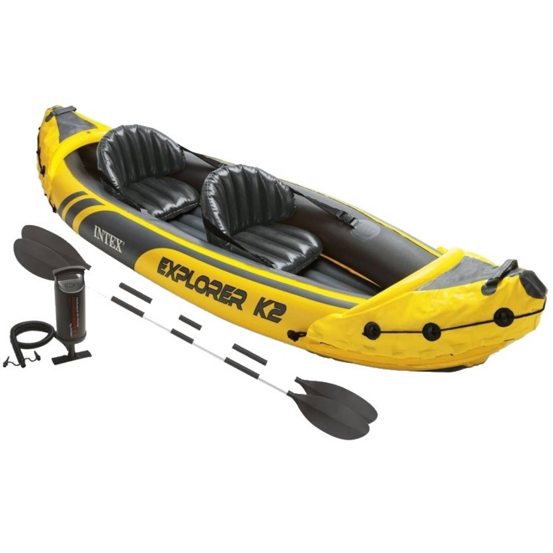 Intex opblaasbare kajak Explorer K2 2-personen 4-delig