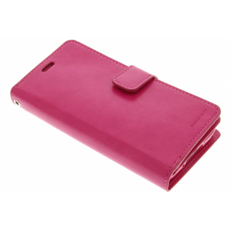 Mansoor Wallet Case voor de Samsung Galaxy S5 (Plus) / Neo - Fuchsia