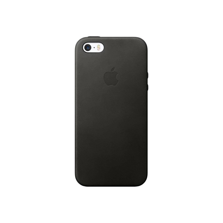 Zwarte Leather Case voor de iPhone 6 / 6s