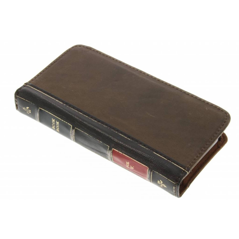 Bruine BookBook Case voor de iPhone 5 / 5s / SE