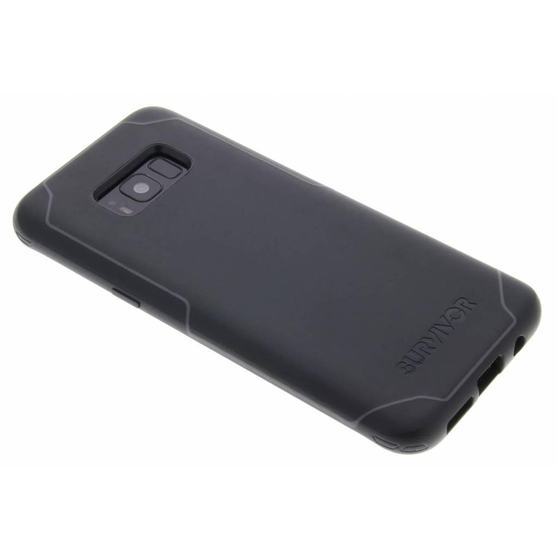 Zwarte Survivor Strong Case voor de Samsung Galaxy S8 Plus