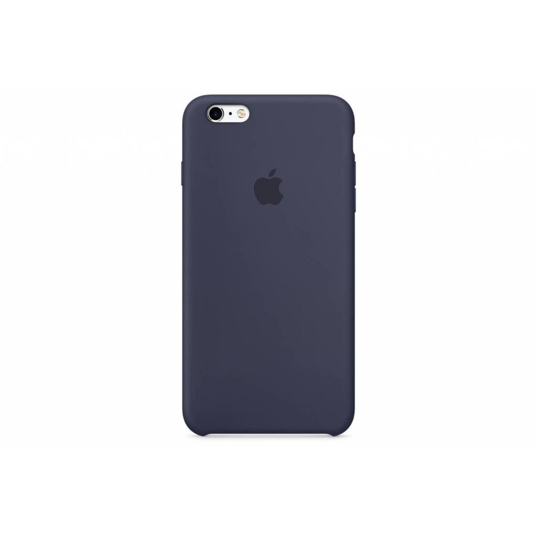 Silicone case voor de iphone 6(s) plus - blauw