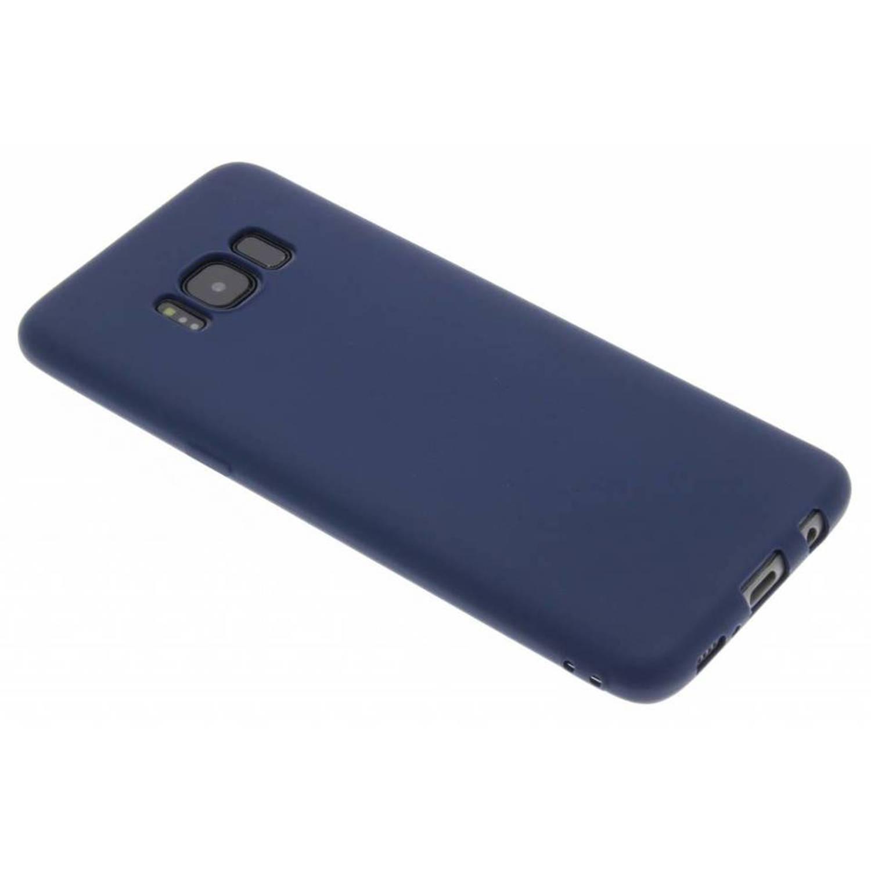 Cas De Tpu Couleur Foncée Pour Samsung Galaxy S8 QMhUaM