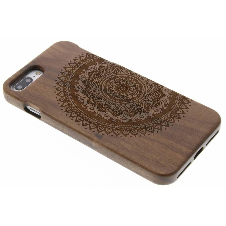 Mandala houten hardcase hoesje met print voor de iPhone 7 Plus