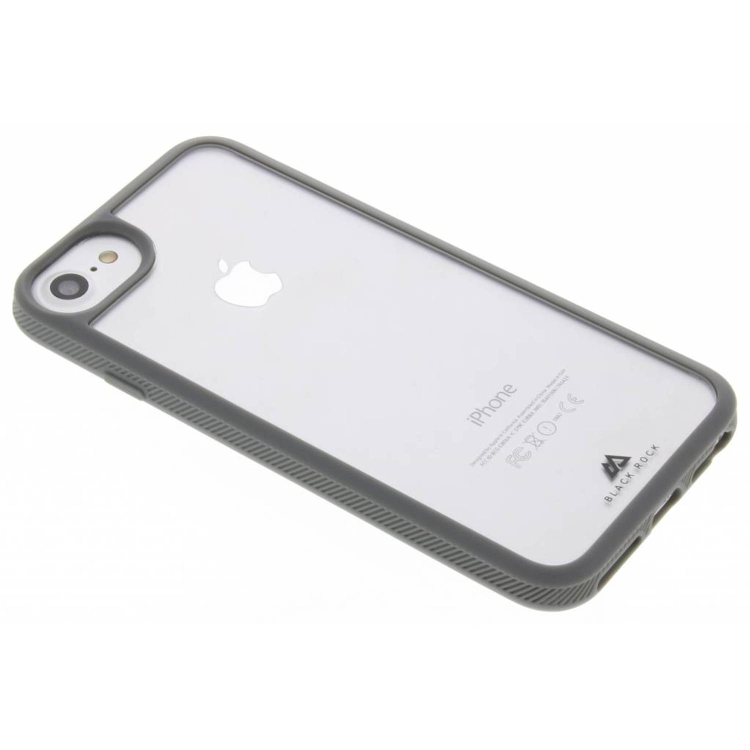 Glass Tough & Touch Case voor de iPhone 8 / 7 / 6s / 6 - Grijs