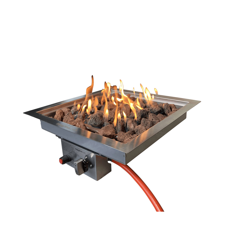 Enjoyfires Inbouwbrander 42x42x14 Cm.
