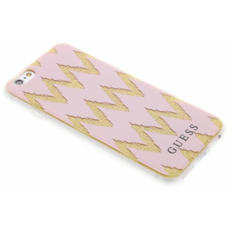 Roze Chevron Gel Case voor de iPhone 6 / 6s