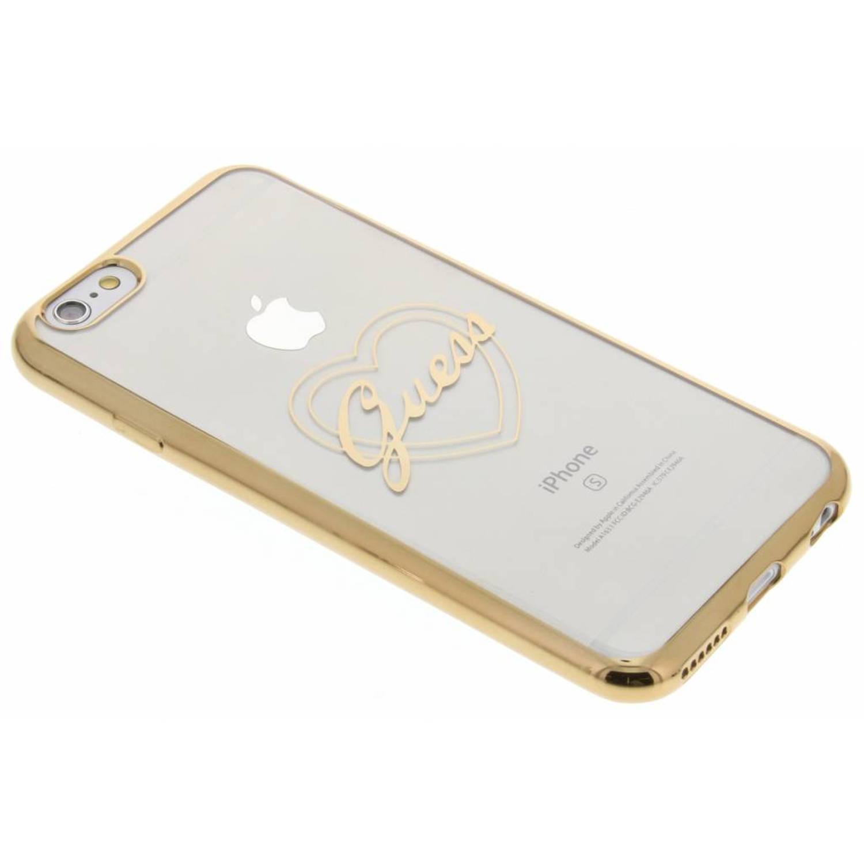 Signature Heart TPU Case voor de iPhone 6 / 6s - Goud