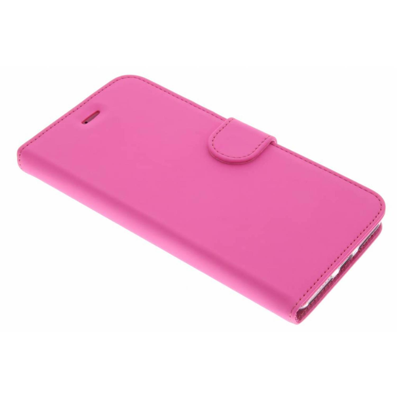 Wallet tpu booklet voor de iphone 8 plus / 7 plus - roze