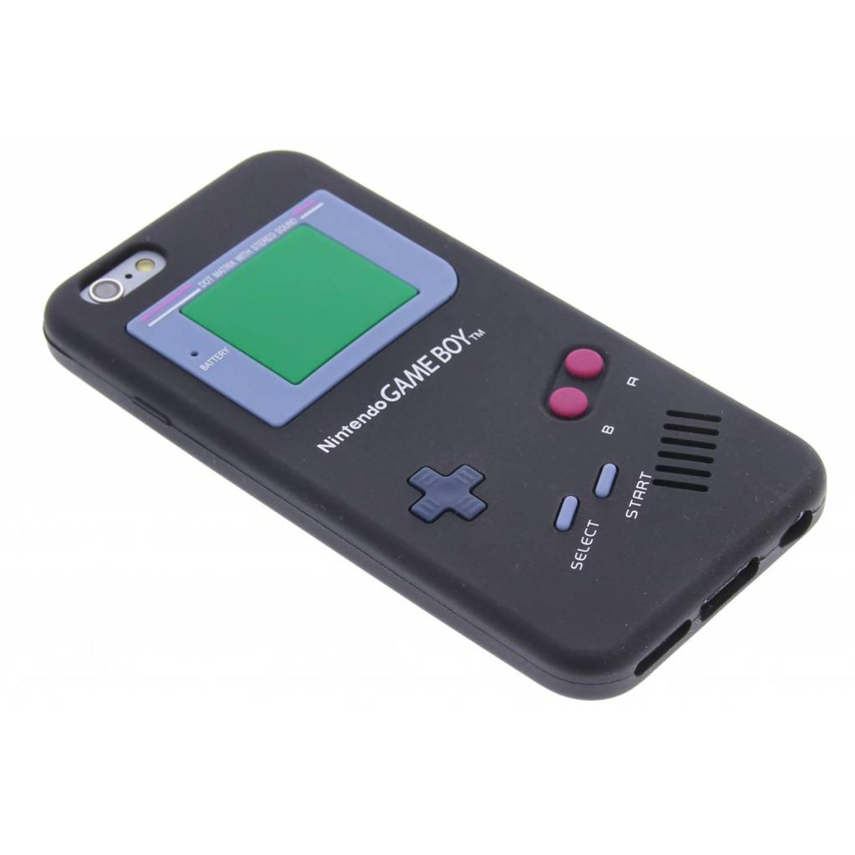 Zwart gameboy siliconen hoesje voor de iphone 6-6s