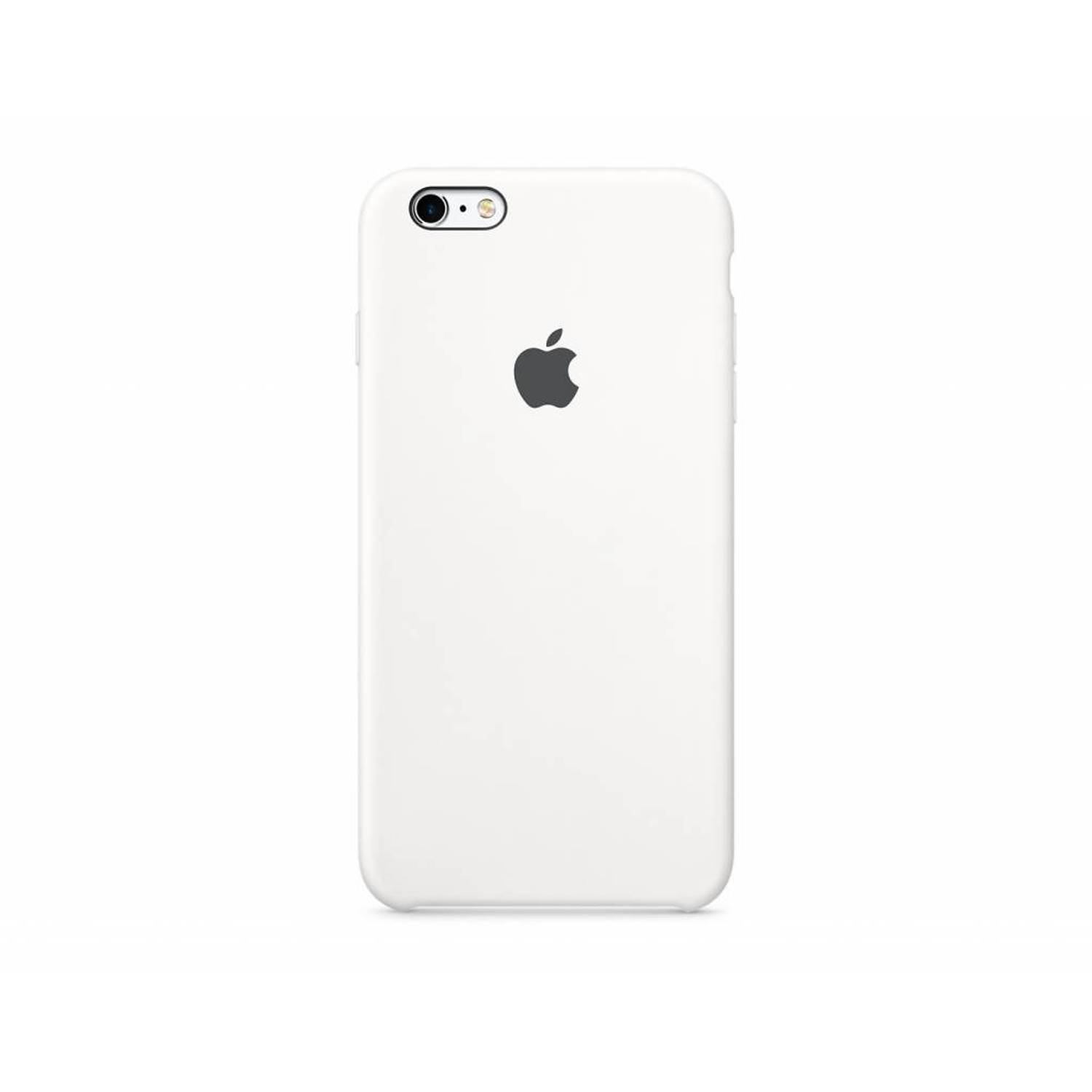 Apple iPhone 6s Silicone Case White (MKY12ZM-A)