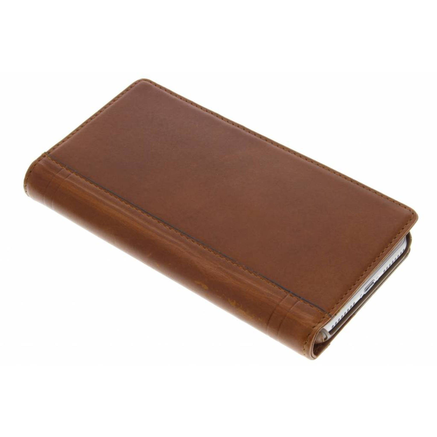 Journal Wallet Case voor de iPhone 8 Plus / 7 Plus - Cognac